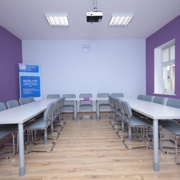 Meble biurowe – sala szkoleniowa